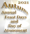 2016 Yahweh's Autumn Feast Dates